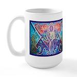 Toltec Warrior Large Mug