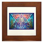 Toltec Warrior Framed Tile