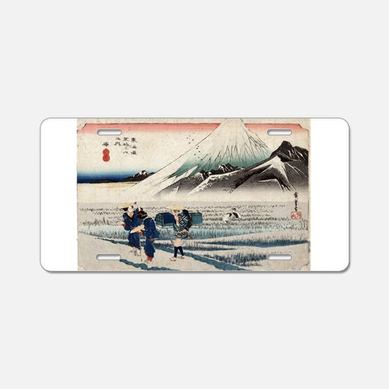 Hara - Hiroshige Ando - 1833 - woodcut Aluminum Li