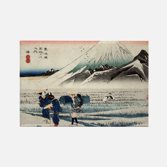 Hara - Hiroshige Ando - 1833 - woodcut Rectangle M