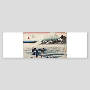 Hara - Hiroshige Ando - 1833 - woodcut Sticker (Bu