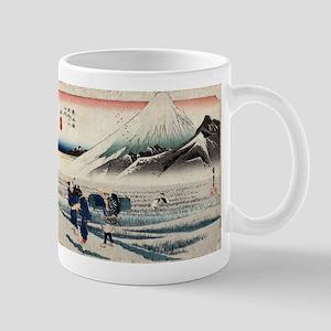 Hara - Hiroshige Ando - 1833 - woodcut 11 oz Ceram