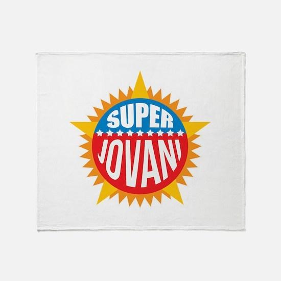 Super Jovani Throw Blanket