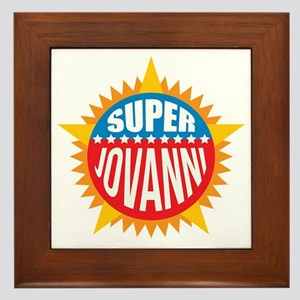 Super Jovanni Framed Tile