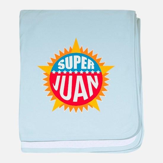 Super Juan baby blanket