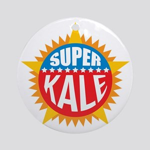 Super Kale Ornament (Round)