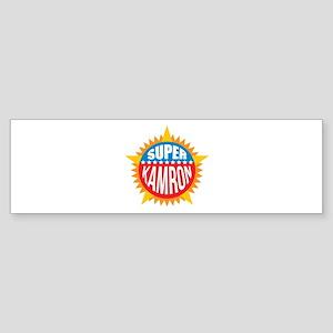 Super Kamron Bumper Sticker