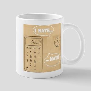 I hate math Mug