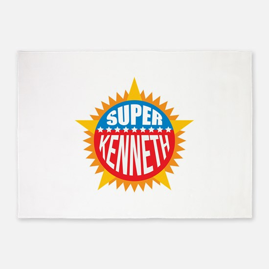 Super Kenneth 5'x7'Area Rug