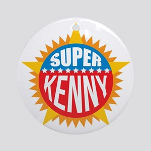 Super Kenny Ornament (Round)