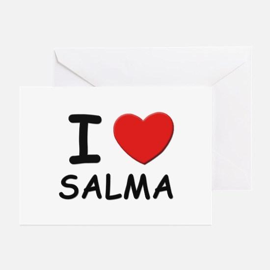 I love Salma Greeting Cards (Pk of 10)