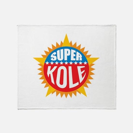 Super Kole Throw Blanket