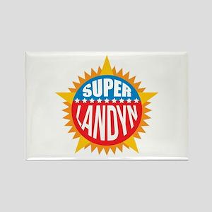 Super Landyn Rectangle Magnet