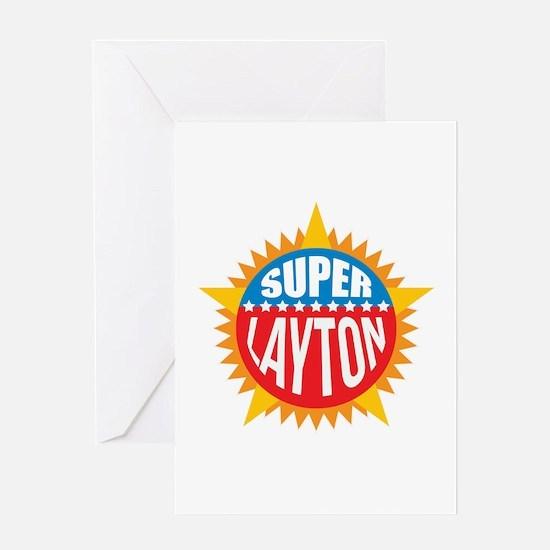 Super Layton Greeting Card