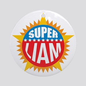Super Liam Ornament (Round)