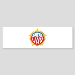 Super Liam Bumper Sticker