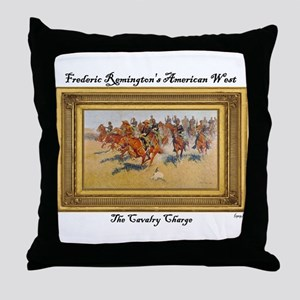 The Cavalry Charge Throw Pillow