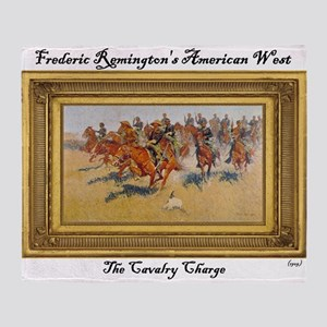 The Cavalry Charge Throw Blanket