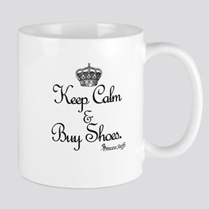 Keep Calm & Buy Shoes Mug