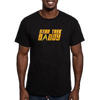 Star Trek Daddy Men's Fitted T-Shirt (dark)