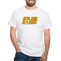 Star Trek Daddy White T-Shirt
