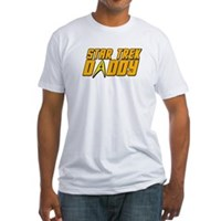 Star Trek Daddy Fitted T-Shirt