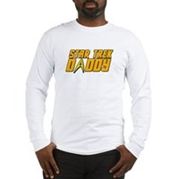 Star Trek Daddy Long Sleeve T-Shirt