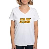 Star Trek Mommy Women's V-Neck T-Shirt