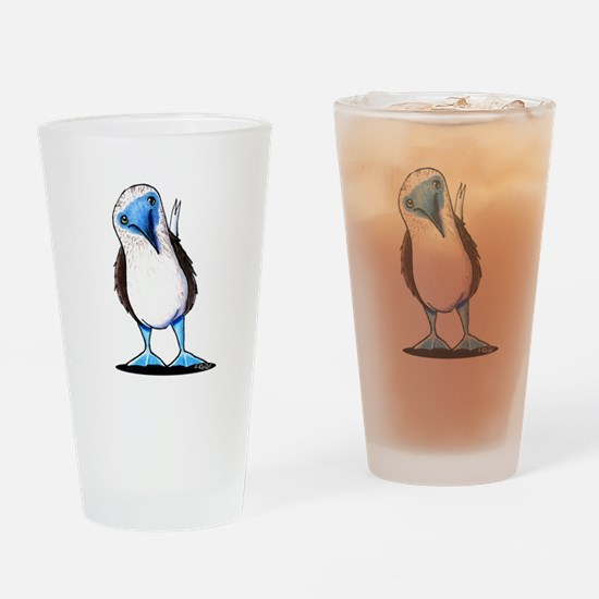 Blue Footed Booby Drinking Glass