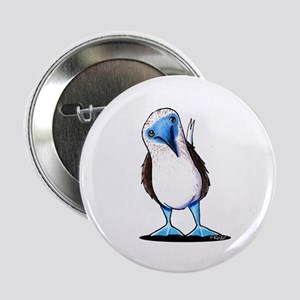 "Blue Footed Booby 2.25"" Button"