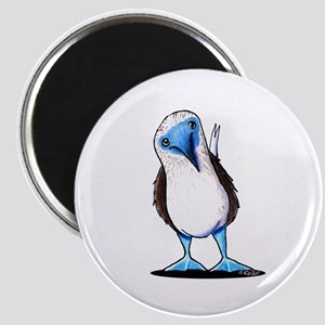 Blue Footed Booby Magnet