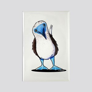Blue Footed Booby Rectangle Magnet
