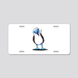 Blue Footed Booby Aluminum License Plate