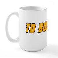 To Boldy Go Large Mug