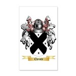 Christy 35x21 Wall Decal