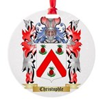 Christophle Round Ornament
