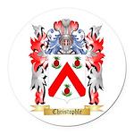 Christophle Round Car Magnet