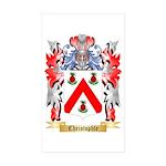 Christophle Sticker (Rectangle 10 pk)