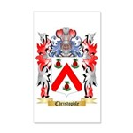 Christophle 35x21 Wall Decal