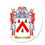 Christopherson Round Car Magnet