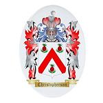 Christopherson Ornament (Oval)