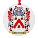 Christophers Round Ornament