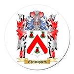 Christophers Round Car Magnet