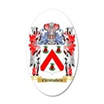 Christophers 35x21 Oval Wall Decal