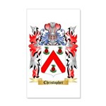 Christopher 35x21 Wall Decal