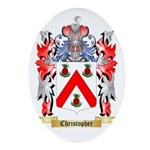 Christopher Ornament (Oval)