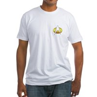 Star Trek Insignia Badge Chest Fitted T-Shirt