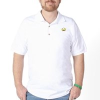 Star Trek Insignia Badge Chest Golf Shirt