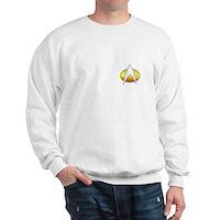 Star Trek Insignia Badge Chest Sweatshirt