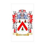 Christon Sticker (Rectangle 10 pk)